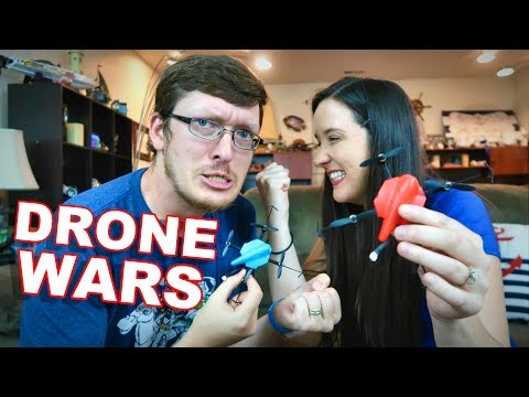 Epic Battle Drones – Husband VS Wife – HS177 – TheRcSaylors