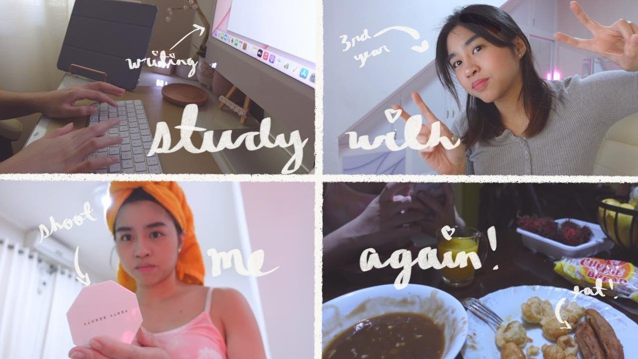 starting another sem as a 3rd year atenean! (chill vlog)