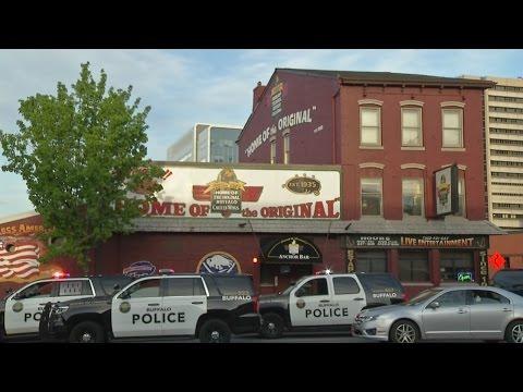 Fatal gunshots ring out in downtown Buffalo Anchor Bar