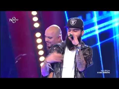 Tepki - Zeo Jaweed - O Ses Türkiye ( 27.10.2015 Full HD )