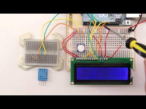 DHT11 Sensor Für Temperatur Und Luftfeuchtigkeit Am Arduino