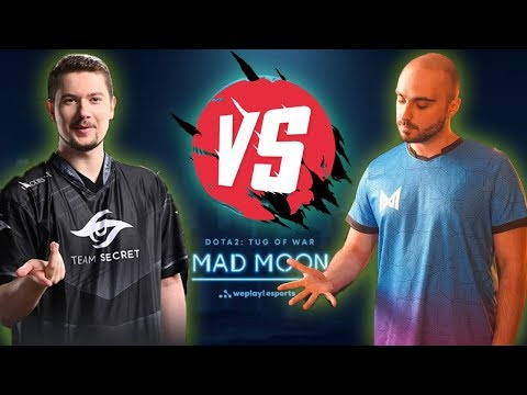 🔴DOTA 2 LIVE |  NIGMA Vs SECRET | WePlay! Dota 2 Tug Of War: Mad Moon | CASTER KUDO