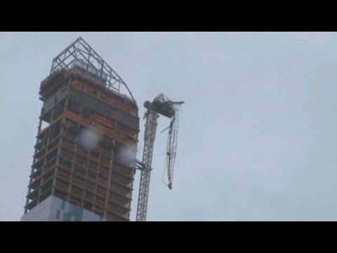 Hurricane Sandy: New York City Endures Storm's Wrath, Buildings Damaged