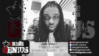 Jah Vinci - Fallen Soldier [Simplicity Riddim] February 2017