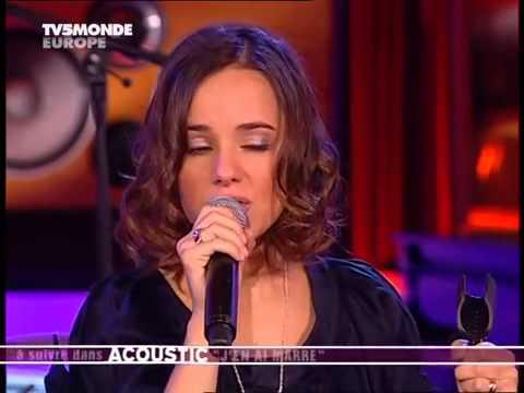Alizée - acoustic concert - Melle Juliette, 50 60, Psychédélices, J'en ai marre, par les paupières