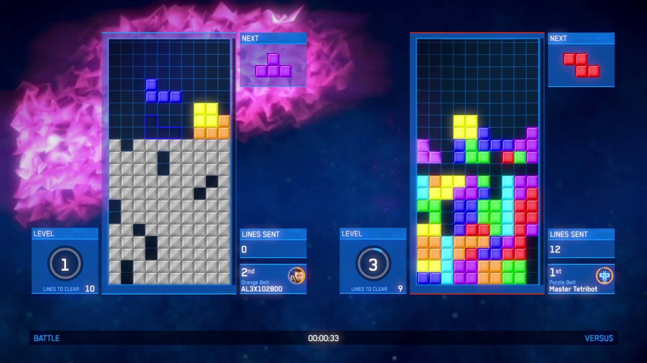 How to beat a Master tetribot in Tetris® Ultimate