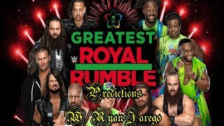 WWE's Greatest Royal RUmble Predictions! (with Ryan Jarego)