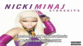 Nicki Minaj - Starships (lyrics) [NEW SONG 2012]