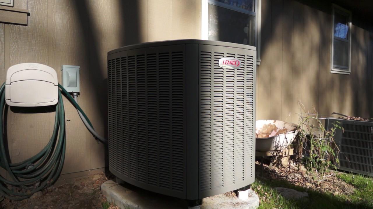 Lennox Xp20 Heat Pump Minimum To Maximum Rate Test