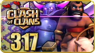 Let's Play CLASH of CLANS Part 317: CK-Angriff mit SEUCHEN-Taktik!