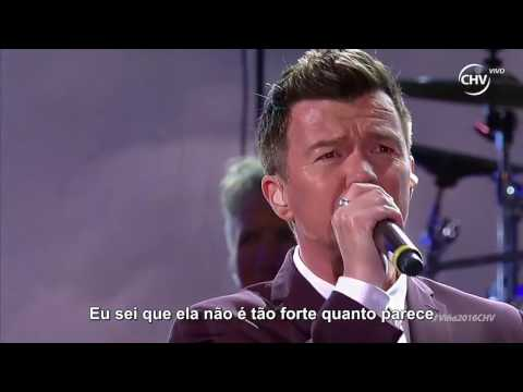 Rick Astley - Cry for Help (Live 2016 Legendado em PT)