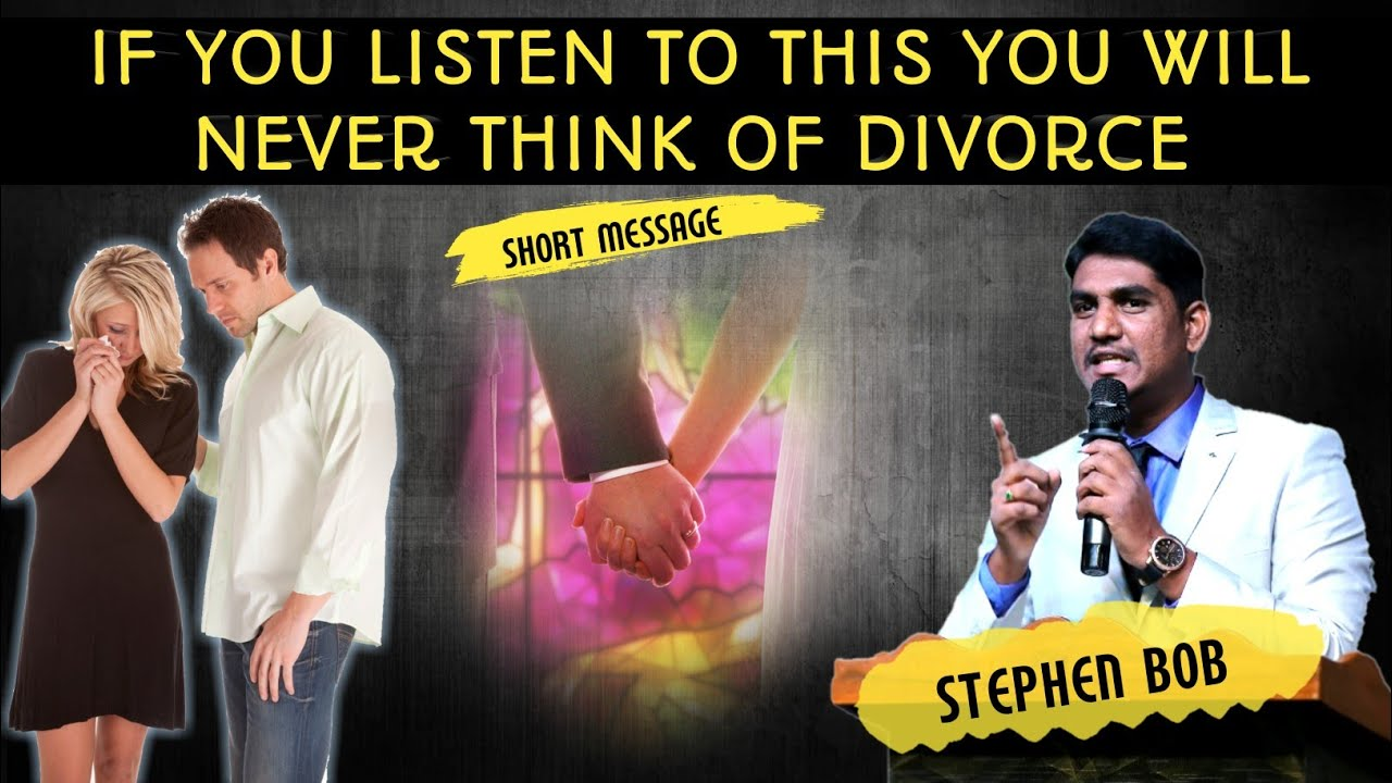 THE PRINCIPLE'S OF MARRIAGE    STEPHEN BOB   
