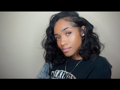 how to do a blunt cut bob quick weave