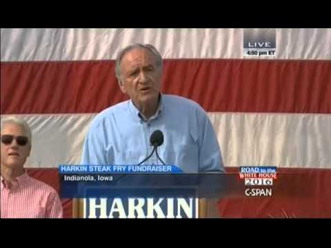 "Tom Harkin: Hillary Clinton's ""Fingerprints Are All Over"" ObamaCare"