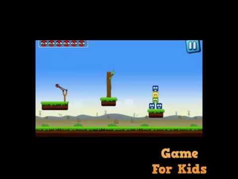 Knock down - game for kids