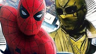 SPIDER-MAN HOMECOMING Movie Preview: VILLAINS & ORIGINS (2017)