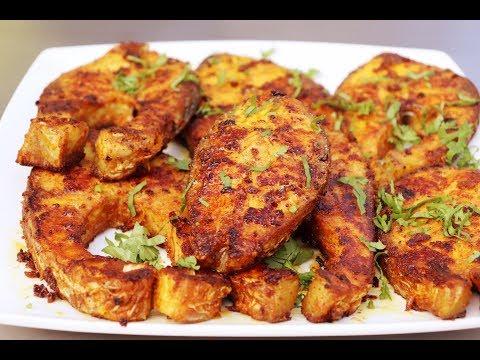 Fried Spicy Rohu Fish   Homefoodbuzz