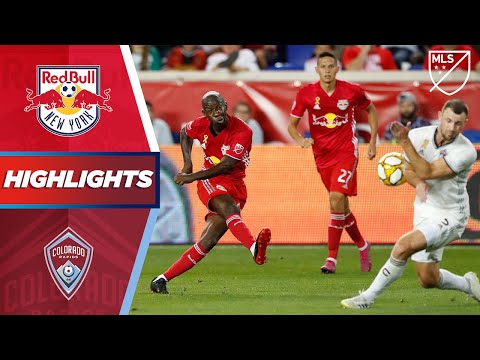 New York Red Bulls vs. Colorado Rapids | HIGHLIGHTS - August 31, 2019
