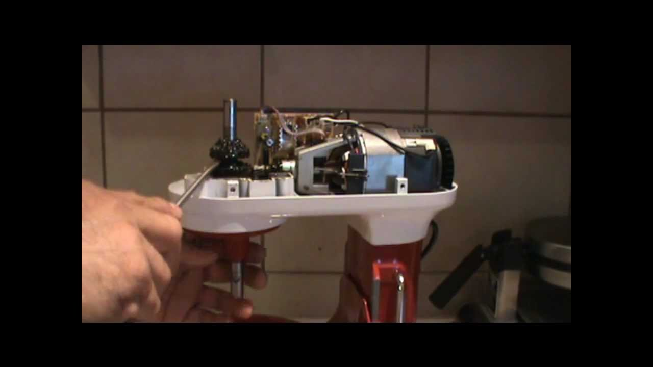 Kitchen Aid Mixer Repair   YouTube