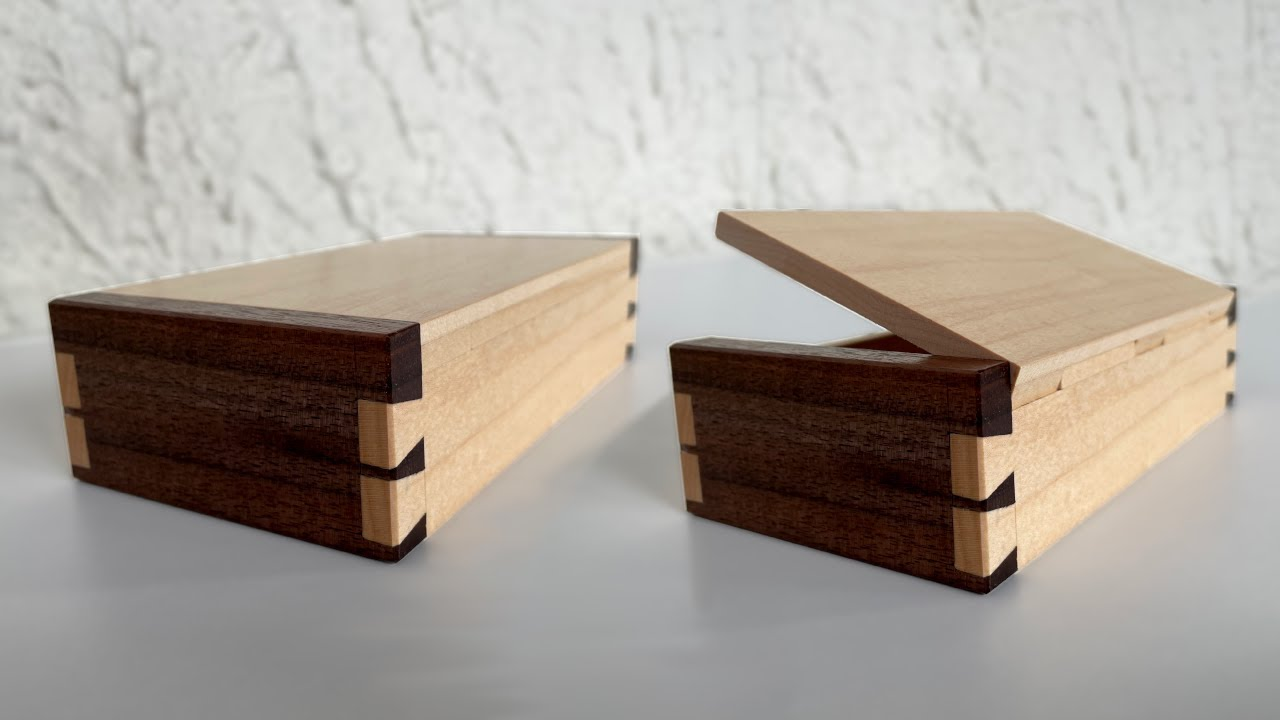 Building an Invisible Hinge Box