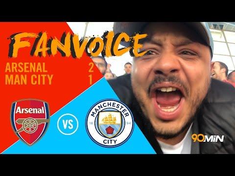 Sanchez goal wins it in extra time! Aguero and Monreal goals Man City vs Arsenal   90min FanVoice