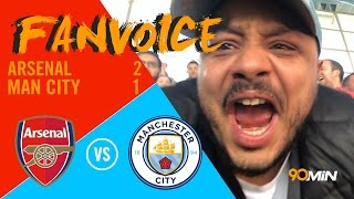 Sanchez goal wins it in extra time! Aguero and Monreal goals Man City vs Arsenal | 90min FanVoice