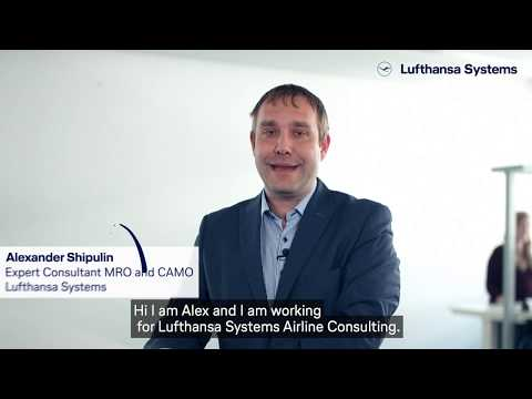 Meet our insiders - We're into IT - Aircraft Maintenance / Lufthansa Systems