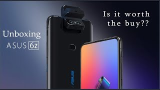Unboxing The Brand New Asus 6z  Is It Worth The Buy  Perfect Rival For Oneplus 7