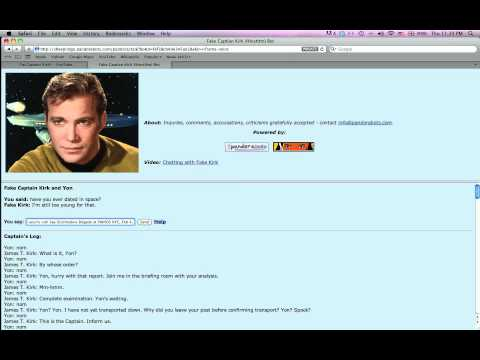 Where Captain Kirk has never gone before. (Palevish)