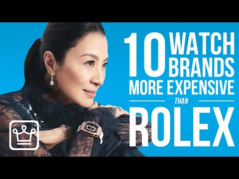 10 Luxury Watch Brands That Are More Expensive Than ROLEX