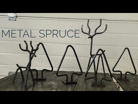 Metal spruce | Easy diy | Gift idea
