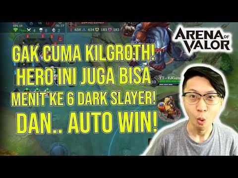 Hero ini Saingan Kil Groth! Lifesteal Gila! Menit Ke 6 Dark Slayer! Hasilnya AUTO WIN!