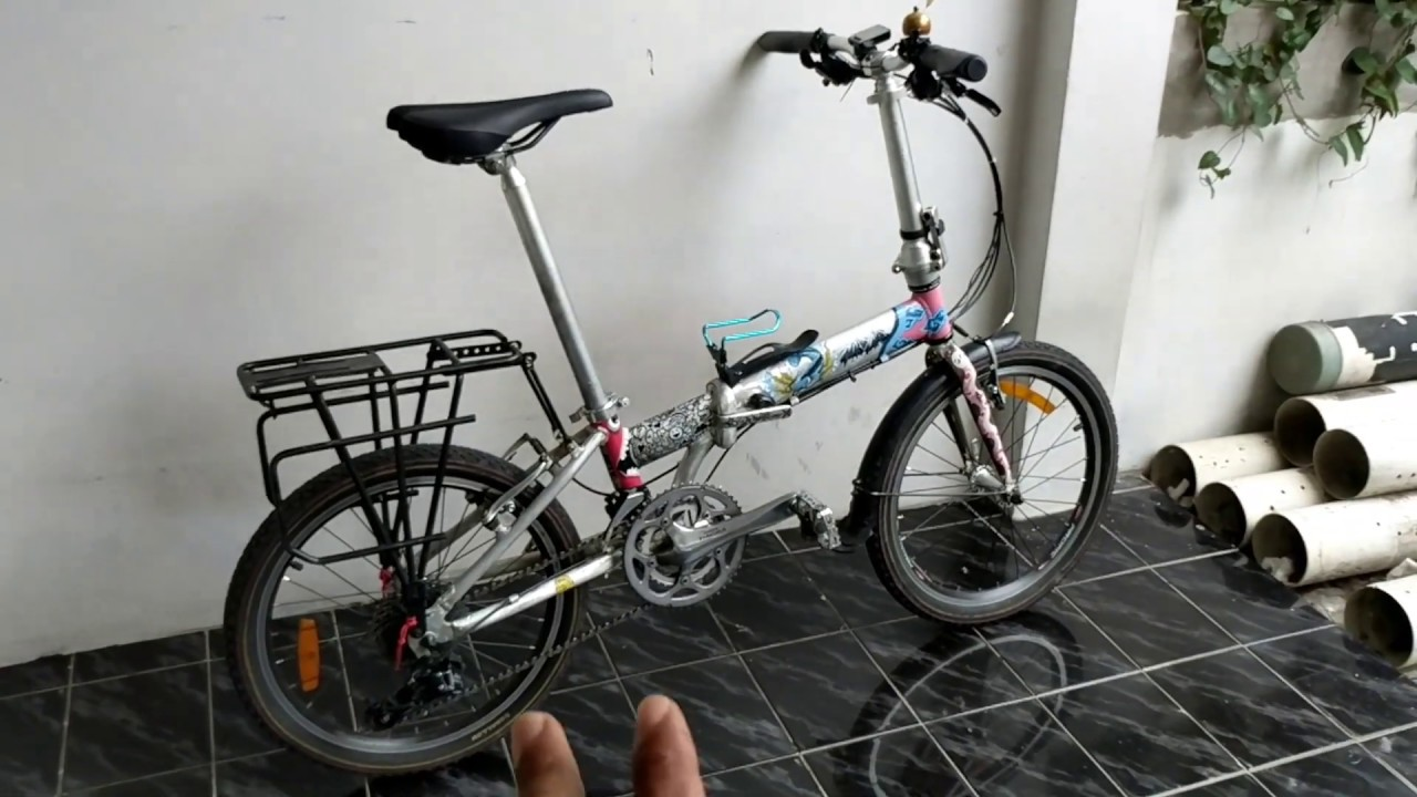 Sepeda Lipat Element Murah Tapi Enak Buat Touring Youtube