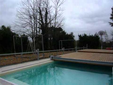 plancher coulissant pour piscine le moov ouverture youtube