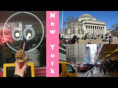 EAST COAST COLLEGE TOUR VLOG - NEW YORK 2017