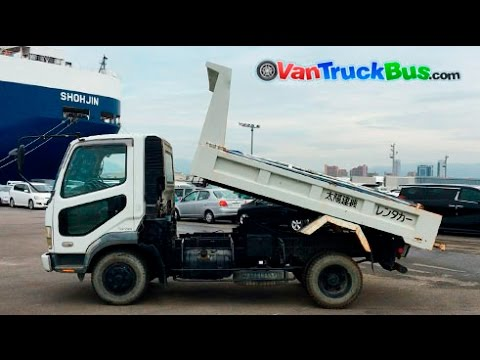 1f45749d7e Mitsubishi Fuso Fighter FK71GC 6M61 Japanese used truck - YouTube