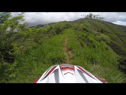 Dirt Bikes in Mountains of Costa Rica: Day #1 May 2014