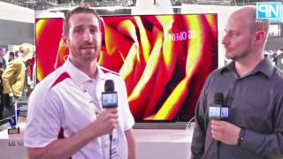lg g6 signature oled 77in ultra hd tv interview ces 2016 poc network