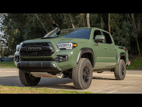 2020 Toyota Tacoma TRD PRO Review | Best Toyota Tacoma Yet?