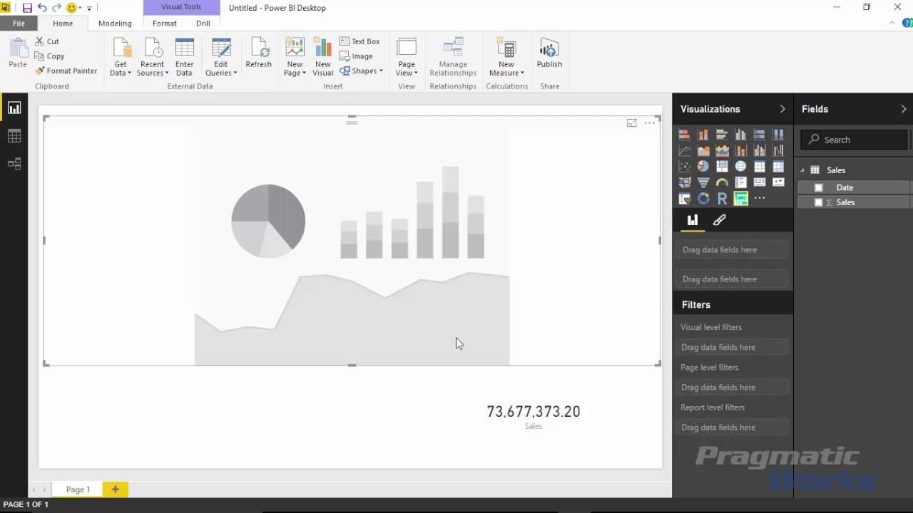 Power BI Custom Visuals - Calendar Visualization