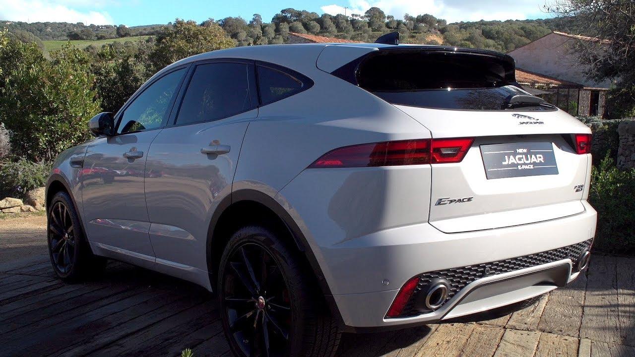 Jaguar E Pace >> 2018 Jaguar E-Pace - Exterior & Interior Footage - YouTube