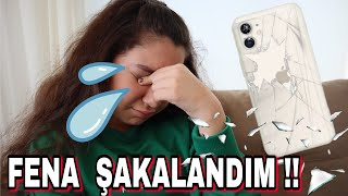 IPHONE 11 TELEFONUM KIRILMIŞ !! OLAMAZ ÇOK FENA ŞAKALANDIM