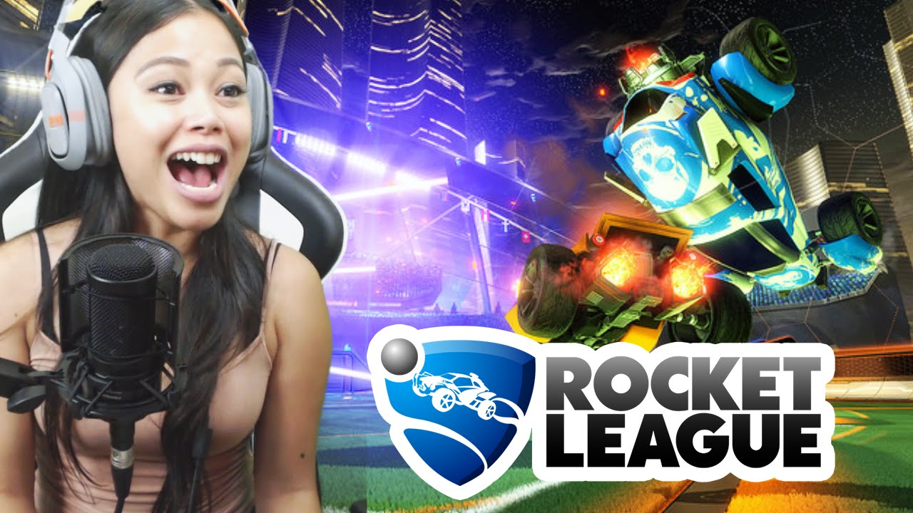 THEMISSESMAE - WHAT A COMEBACK!! - Rocket League Fails and Funny Moments!