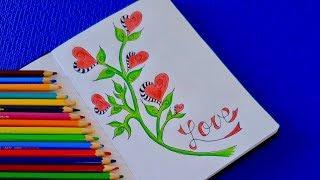 Как оформить личный дневник своими руками. DIY. Разворот в личном дневнике своими руками.