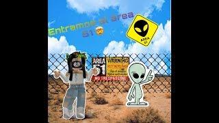 WE ENTER AREA 51 CAN BRING HOME MY ALEN?👽⚠️/ROBLOX