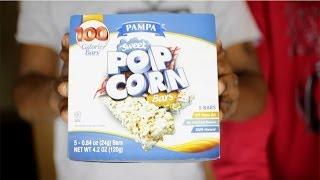 Sweet Popcorn Bars Food Review