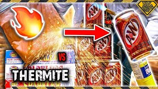 Root Beer vs Thermite 💣💥