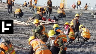 How 1,500 Chinese Workers Built A Railroad In Only 9 Hours