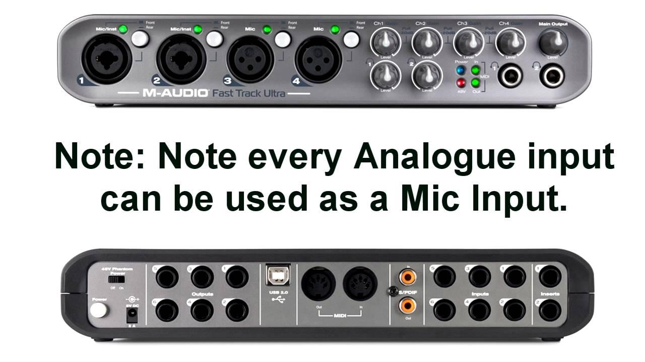 Choosing an Audio Interface AKA Sound Module