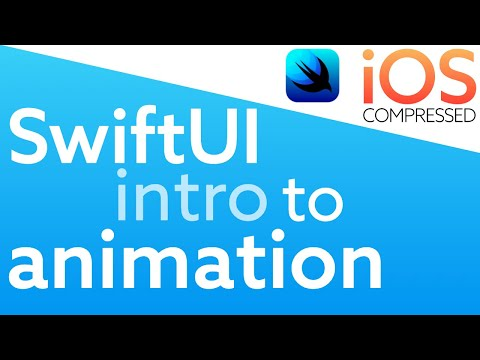SwiftUI: Intro to Animation in 60 seconds   iOS Swift thumbnail